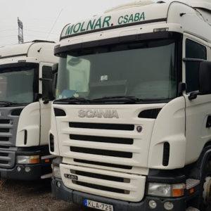Sofőr, belföldi tehergépjármű vezető nyerges szerelvényre