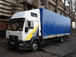 Nemzetközi sofőr állás 15 tonnás autóra C kategória Olaszország irány