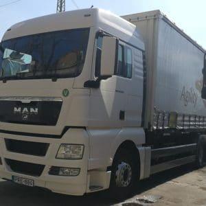 Nemzetközi sofőr állás C kategóriával 18 tonnás autóra